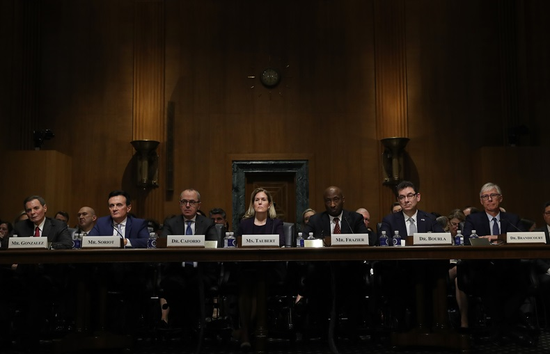 Pharma CEOs testify at Senate Finance Committee hearing 2-26-19