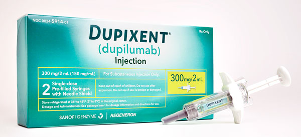 Dupixenst injection box and syringe
