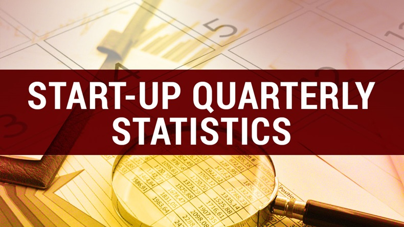 Start-Up Quarterly Statistics regular column feature image