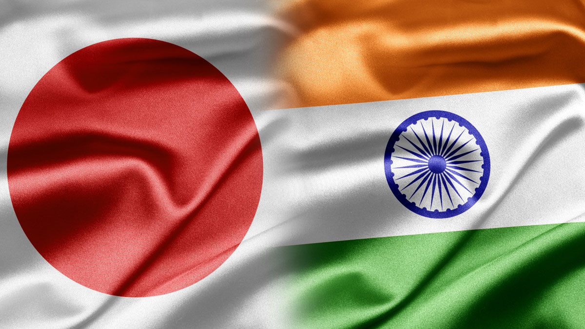 Japan and India