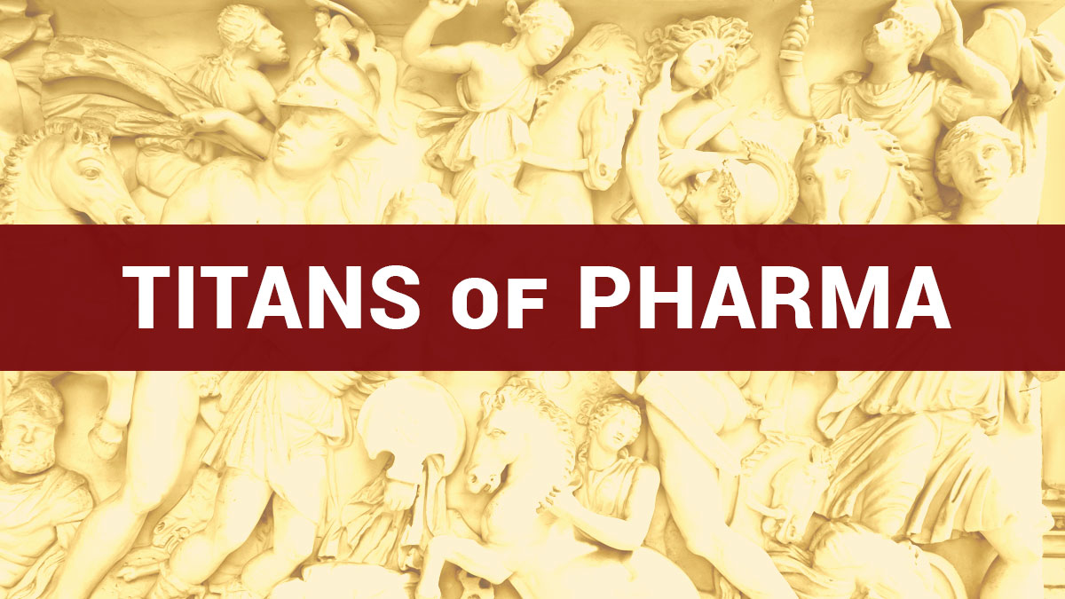 CEO Titans of Pharma