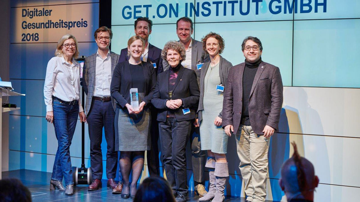 GET.ON team that won the Digital health prize