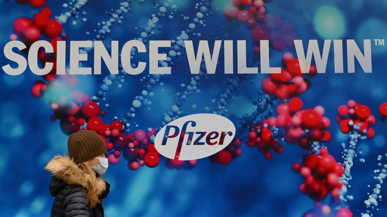 Pfizer Science Will Win Poster