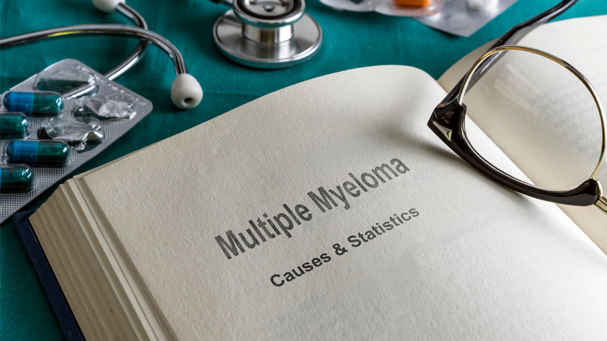 Open Book Of prostate multiple myeloma, Conceptual Image - Image