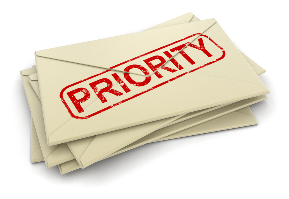 Priority letters