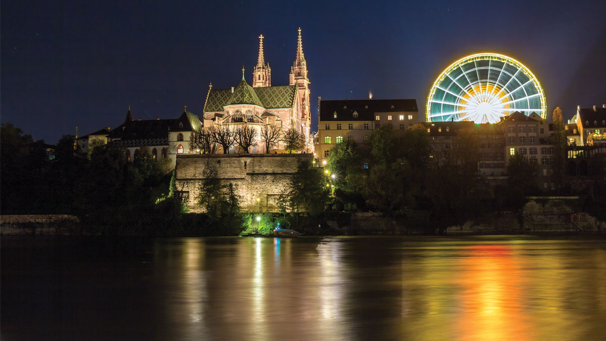 Basel Minister by Night