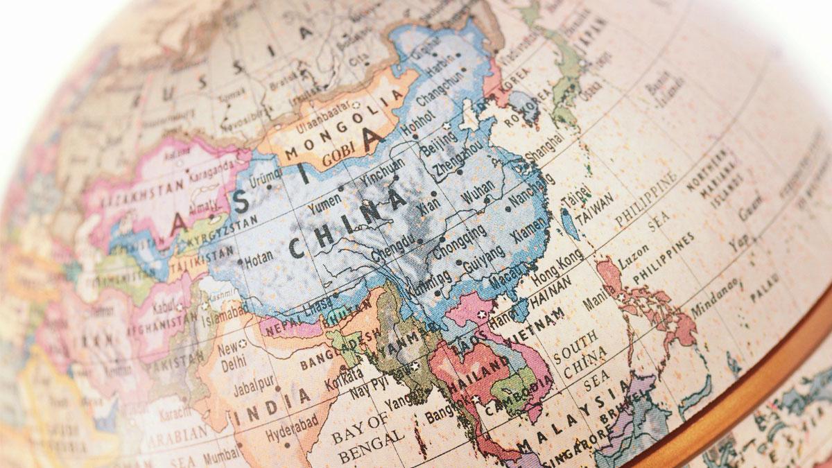 China globe